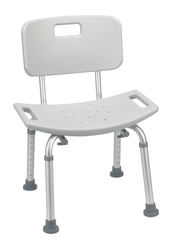 drive medical bathroom safety shower tub bench chair with back grey health On bathroom chair