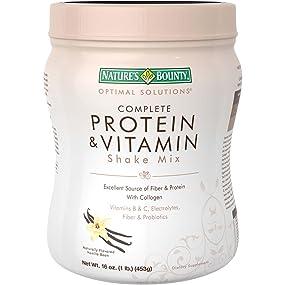 Nature's Bounty Protein Shake Vanilla, 16 ounces