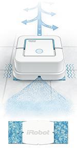 amazoncom irobot braava jet 240 superior robot mop