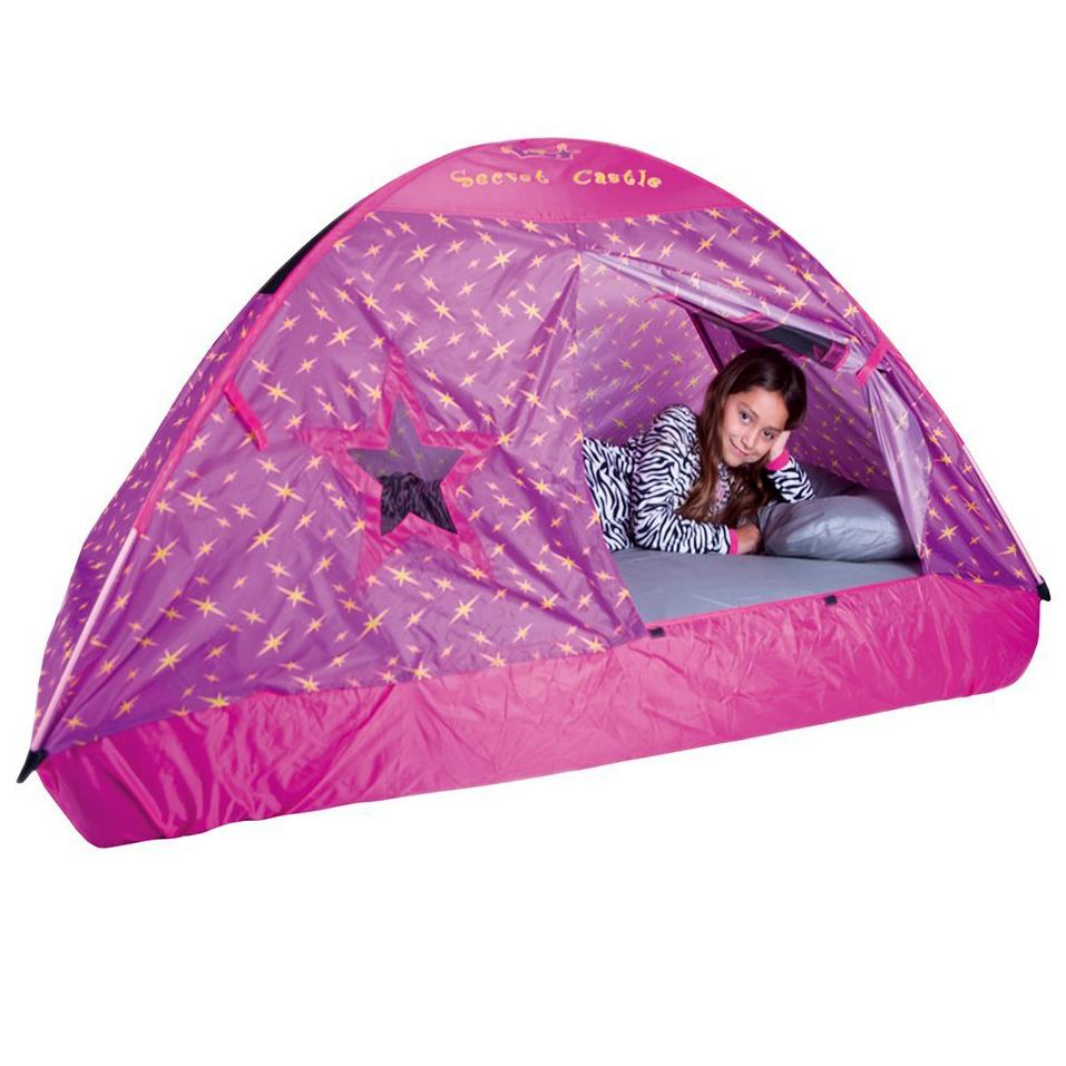 Amazon Pacific Play Tents Kids Secret Castle Bed Tent