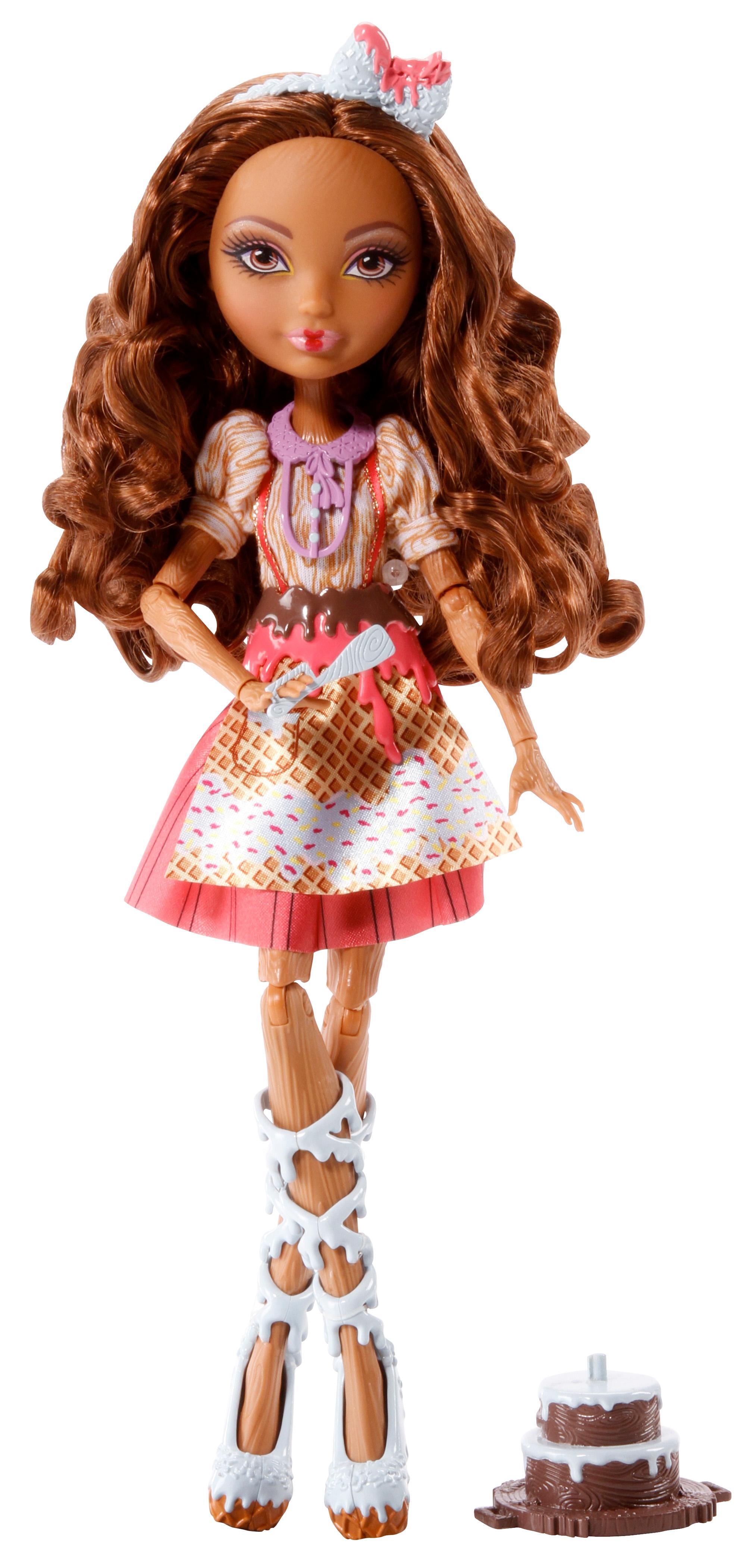 Amazon.com: Ever After High Sugar Coated Cedar Wood Doll ...