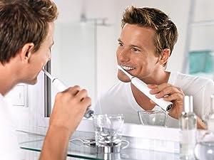 Philips Sonicare DiamondClean, electric toothbrush, rechargeable toothbrush, white toothbrush