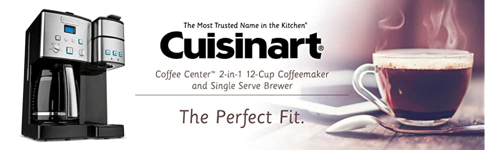 Amazon Com Cuisinart Ss 15 12 Cup Coffee Maker And Single