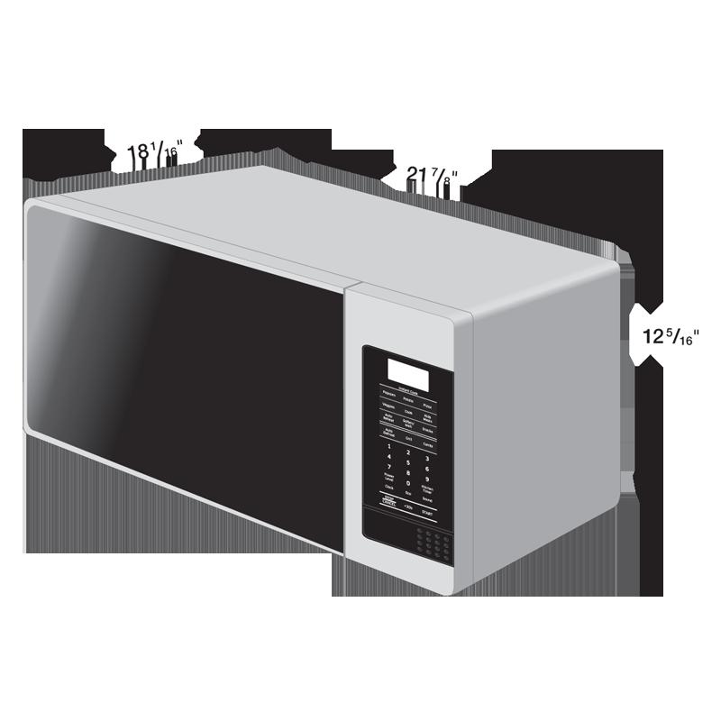 Amazon.com: Samsung MG14H3020CM 1.4 cu. ft. Countertop Grill Microwave ...