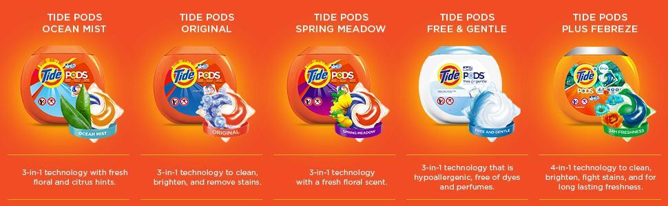Amazon Com Tide Pods Ocean Mist He Turbo Laundry