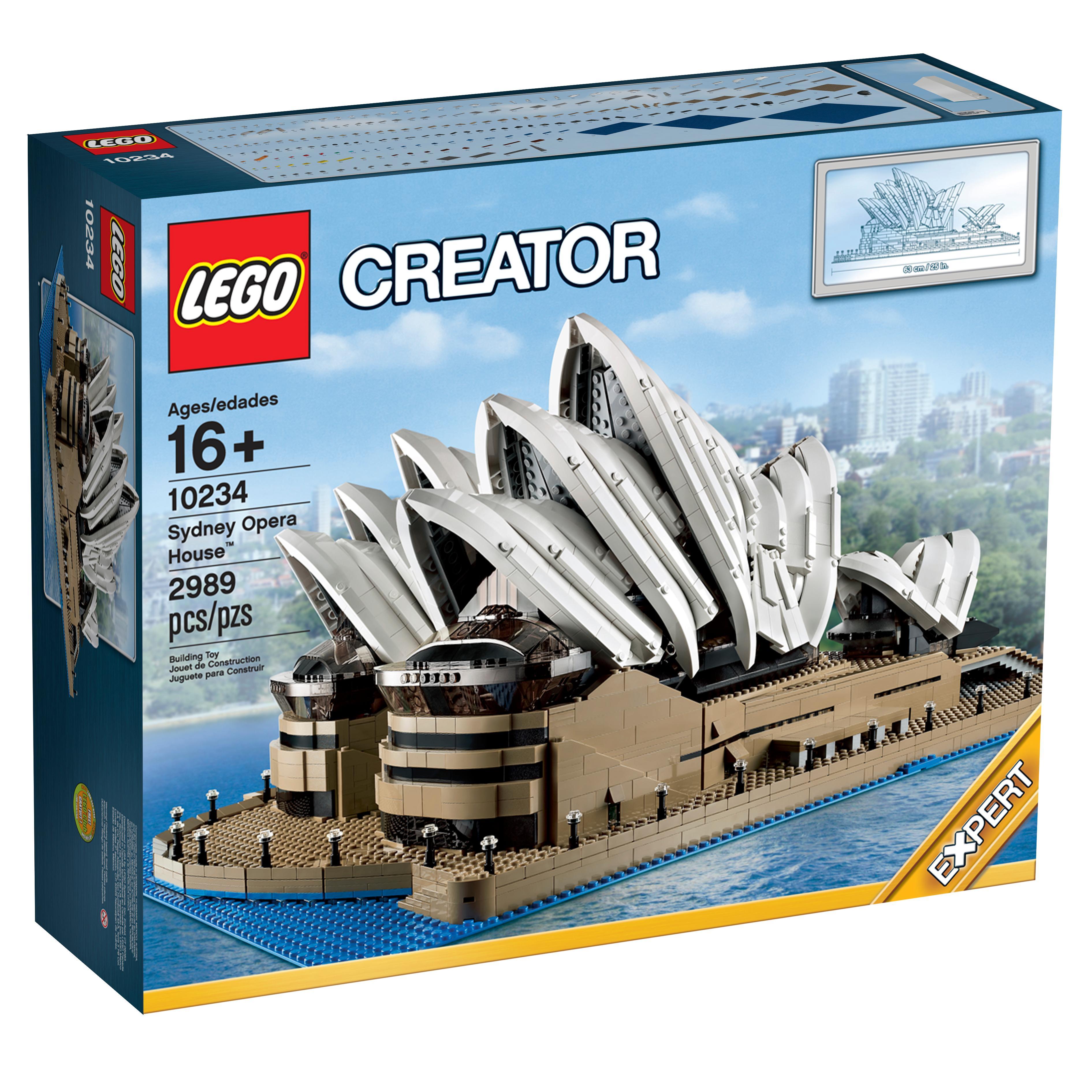 lego creator expert 10234 sydney opera house. Black Bedroom Furniture Sets. Home Design Ideas