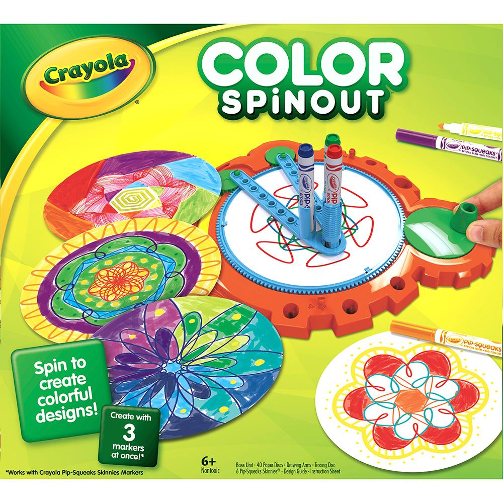 Art color markers - Crayola Color Spinout Hero Image