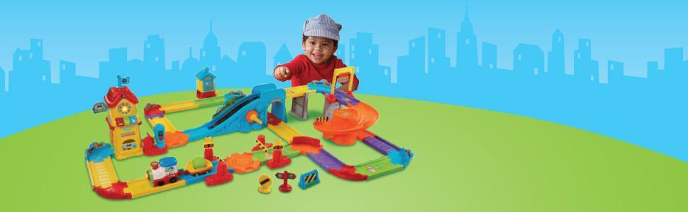 Amazon Vtech Go Go Smart Wheels Train Station Playset Toys