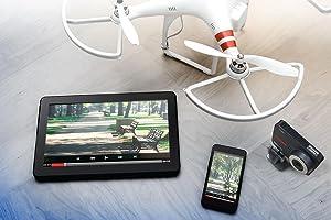 SanDisk cards work great with smartphones, tablets, drones, interchangeable-lens cameras