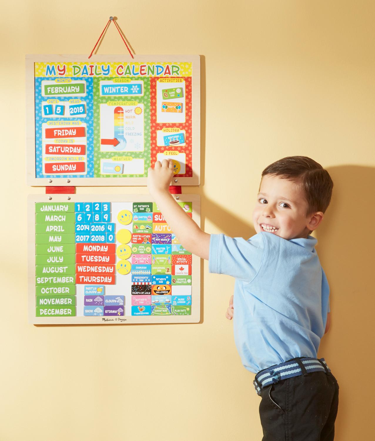 Amazon.com: Melissa & Doug My First Daily Magnetic