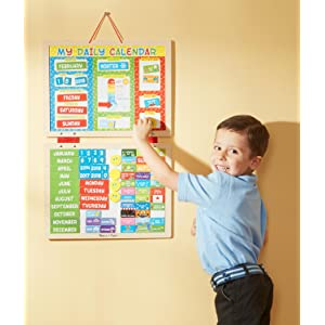 Amazon Com Melissa Amp Doug My First Daily Magnetic