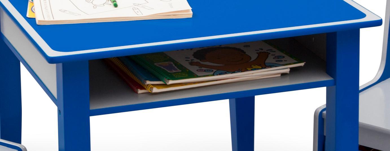 Amazon Com Delta Children Jack Amp Jill Storage Table