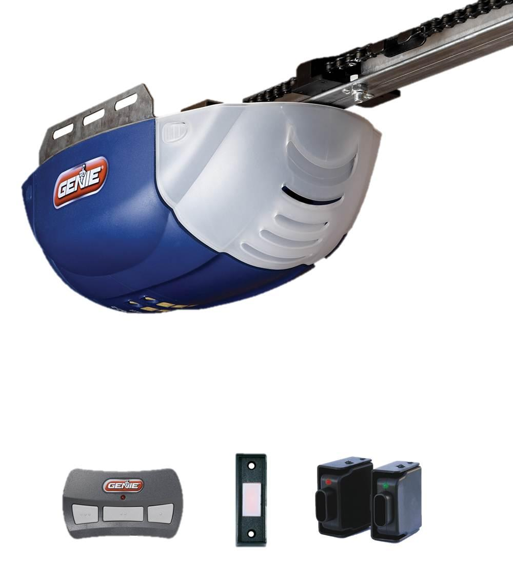 genie chainlift 600 garage door opener with intellicode rolling code technology view larger