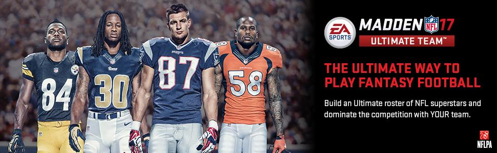 Amazon com: Madden NFL 17 - Standard Edition - Xbox One