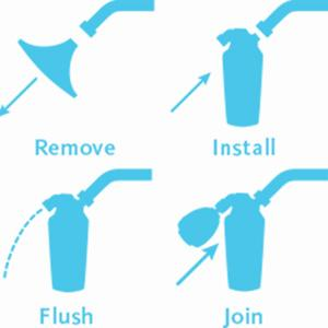 shower filter installation instructions