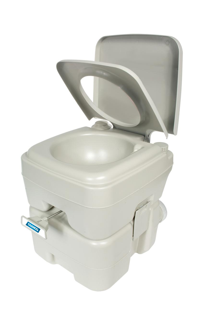 Amazon Com Camco Standard Portable Travel Toilet