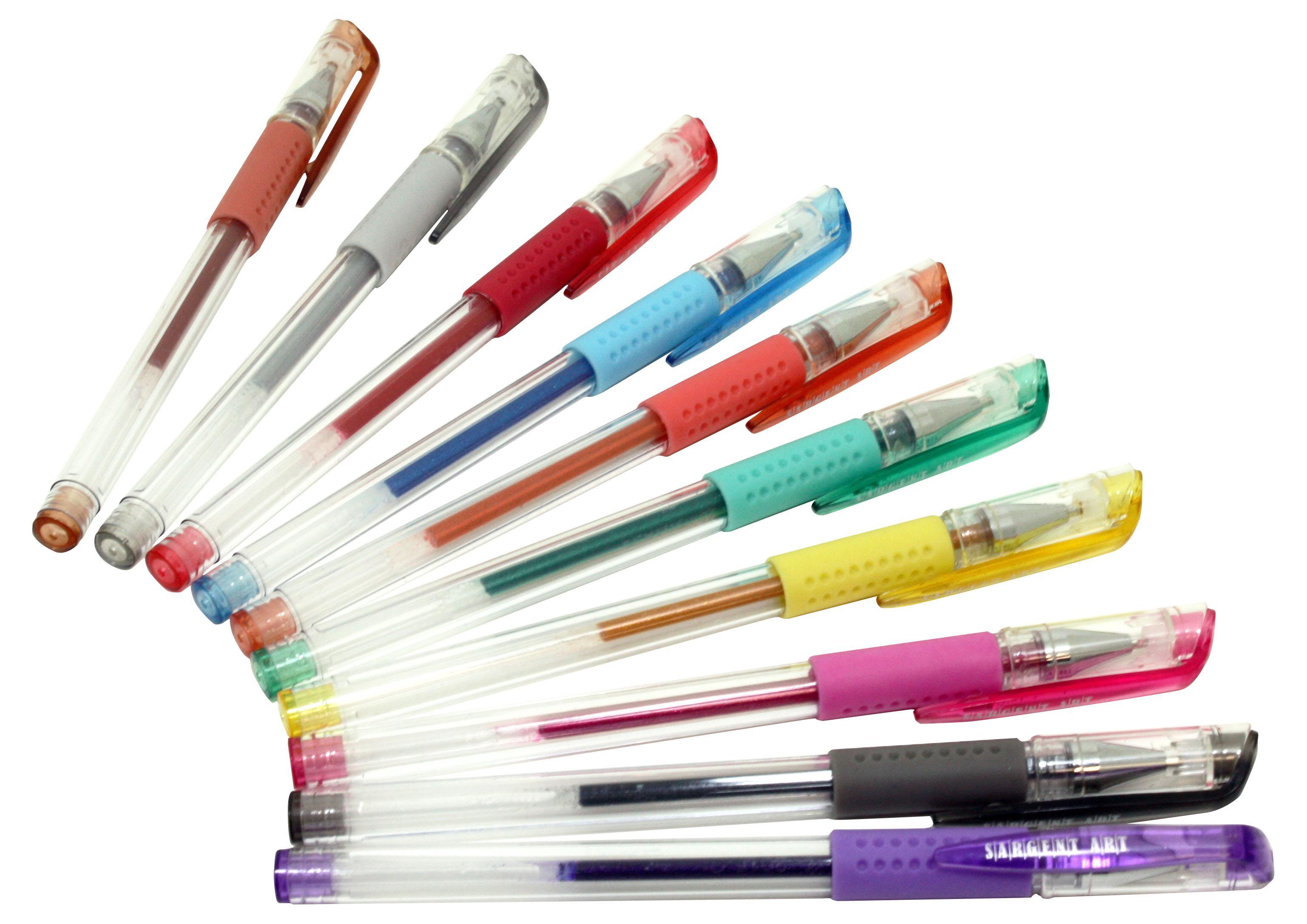 Image result for Sargent fluorescent glitter pens