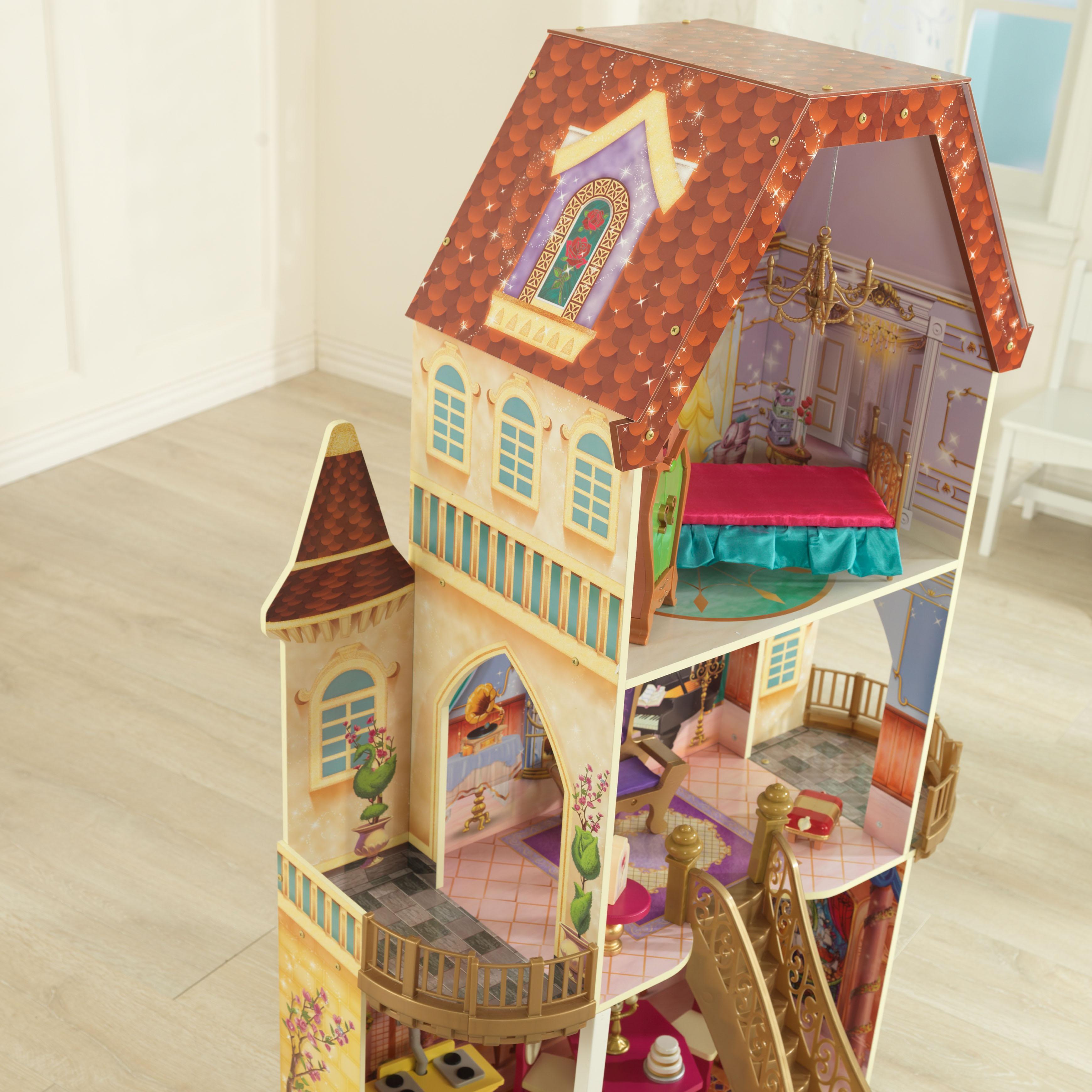 Kidkraft belle enchanted dollhouse toys games for Belle chambre fille