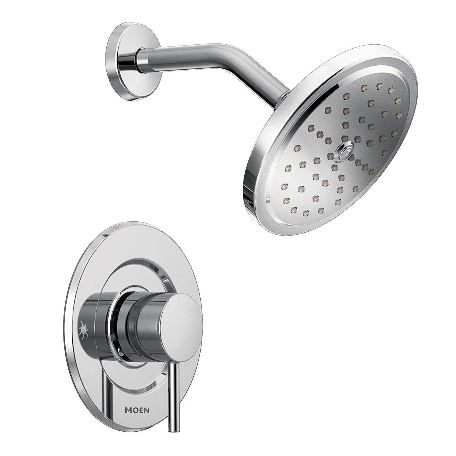 Moen t3292 align shower only body set without moen 39 s moentrol shower valve chrome Amazon bathroom faucets moen