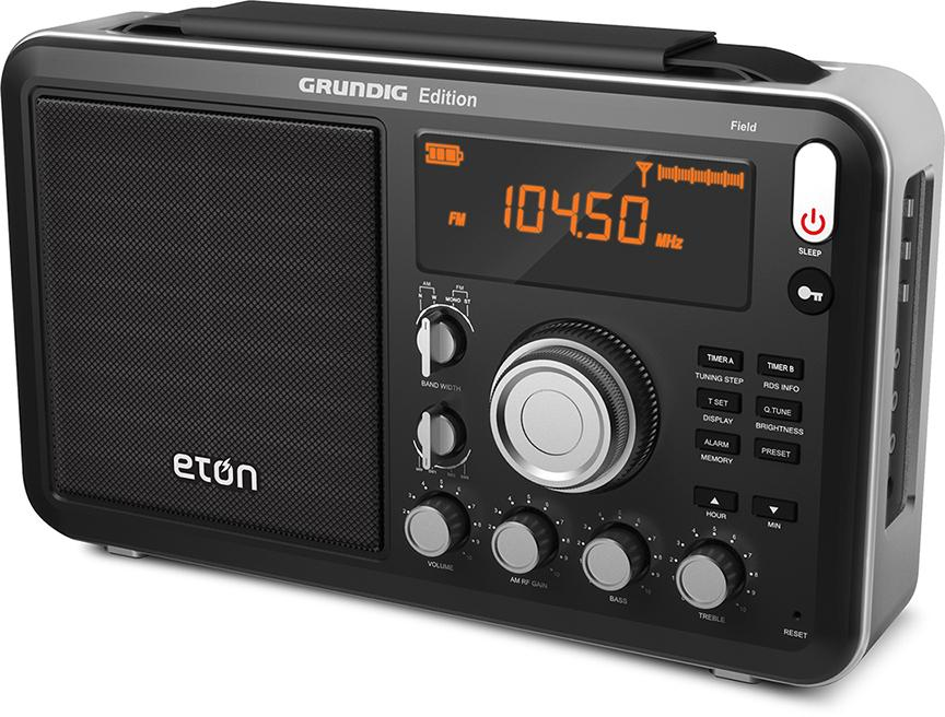 eton field am fm shortwave radio with rds. Black Bedroom Furniture Sets. Home Design Ideas