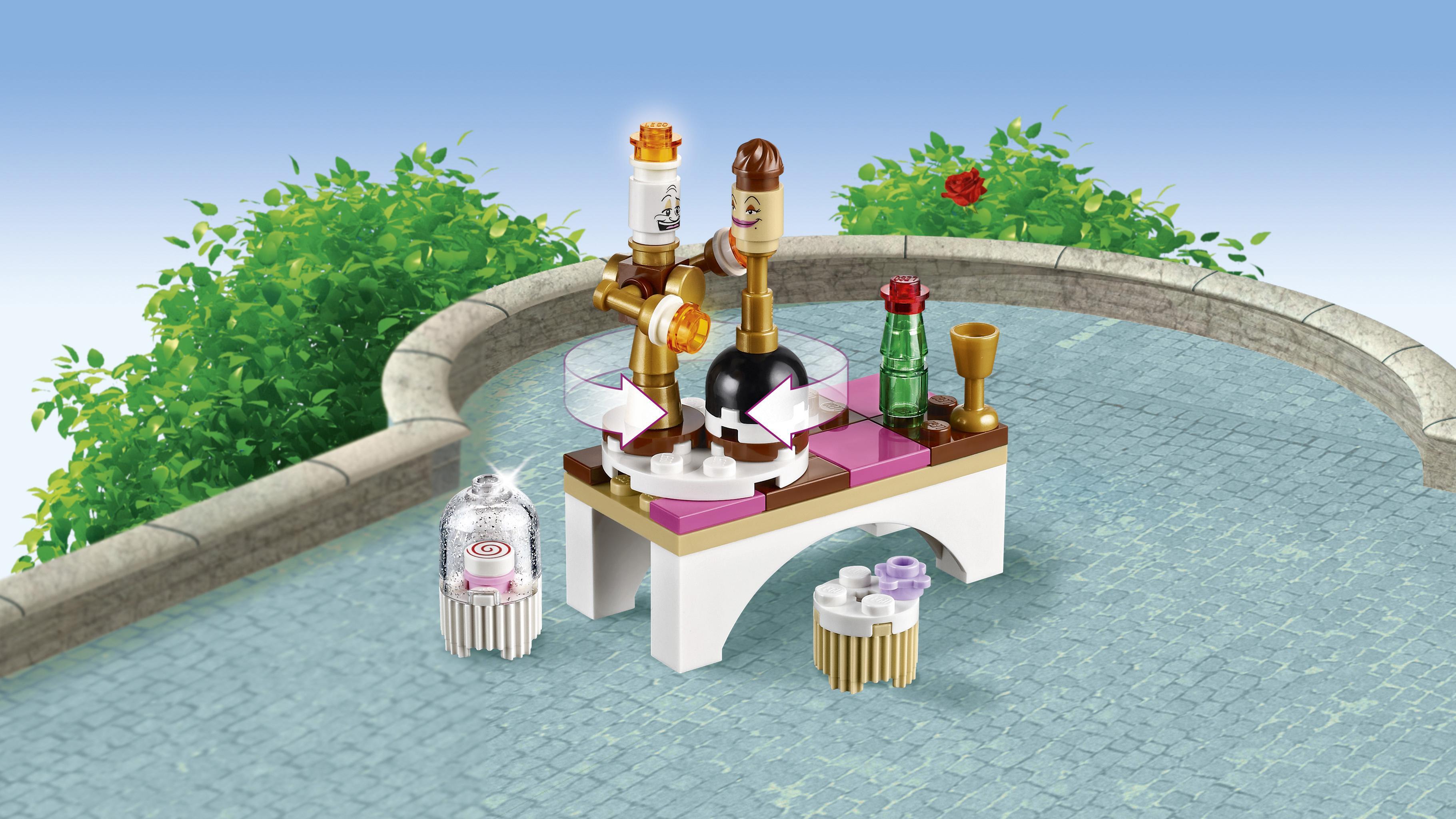 Amazon Com Lego L Disney Princess Belle S Enchanted
