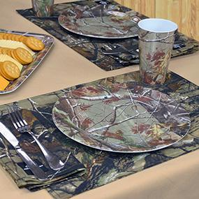 Dii real tree melamine bowl 6 inch set of 6 for Camo kitchen ideas