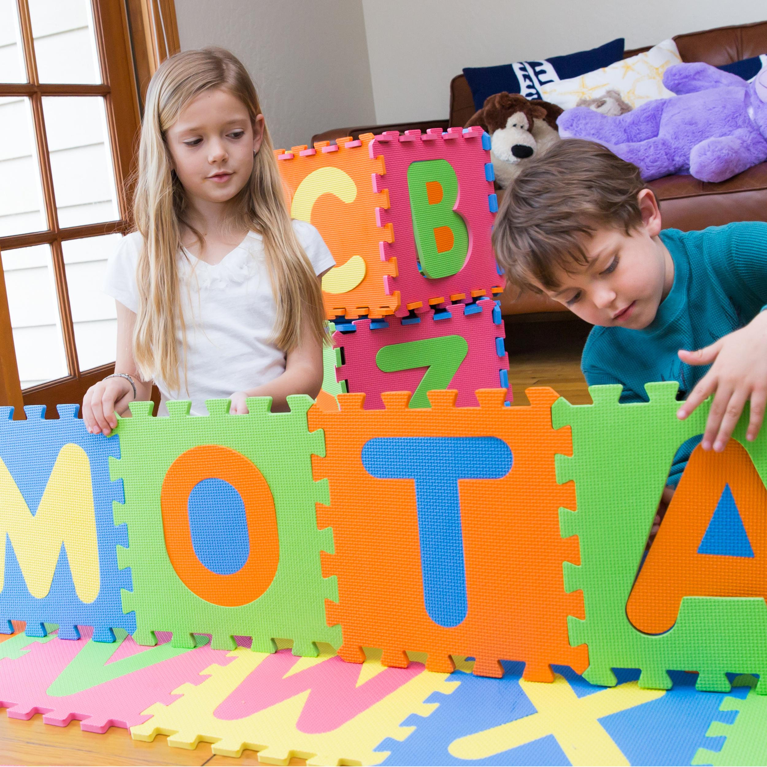 Amazon Com Mota Alphabet Abc Mat Eva Foam Anti Slip