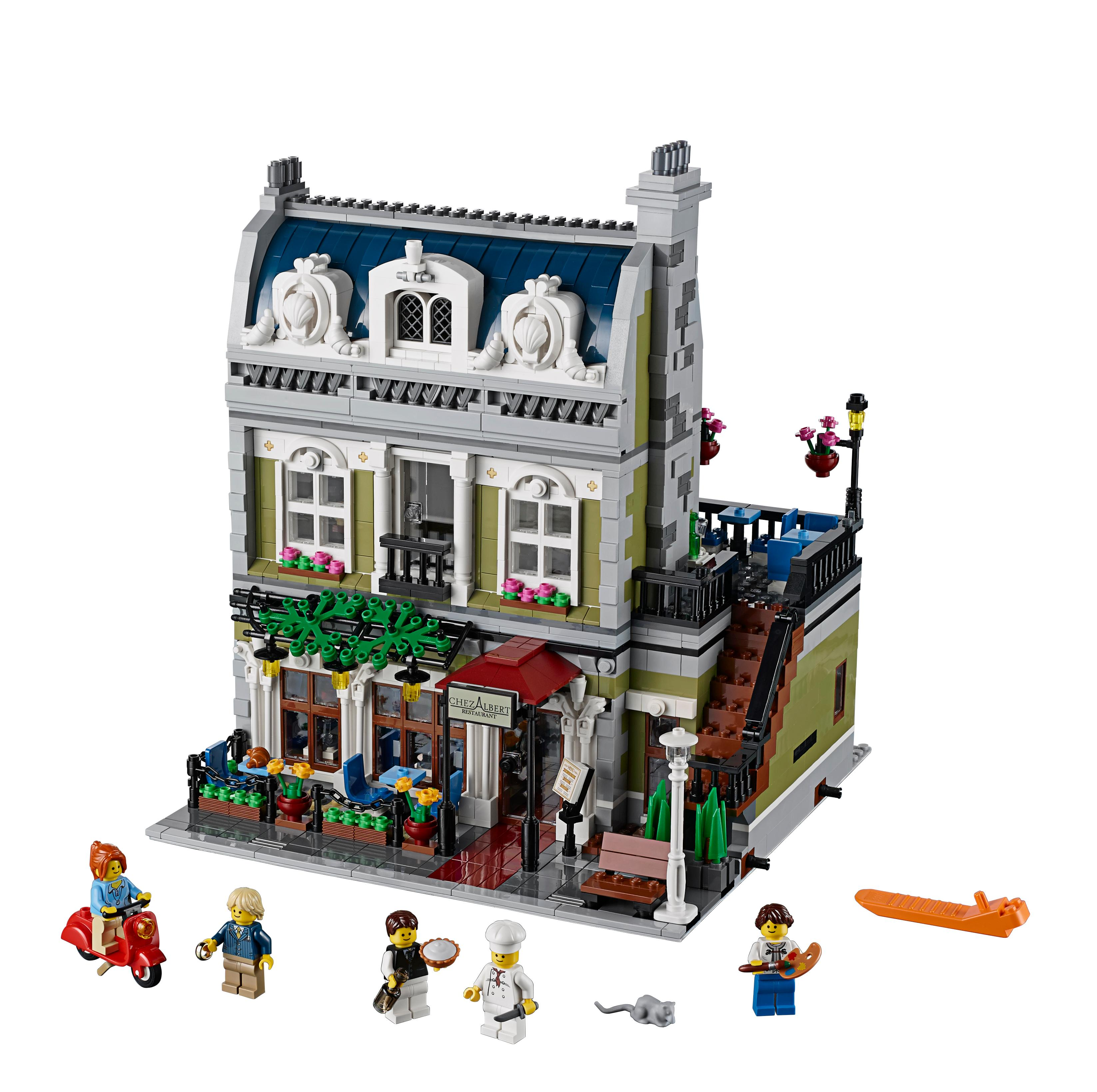 All Lego Toys : Amazon lego creator expert parisian restaurant