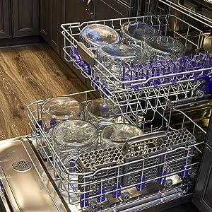 Dishwasher Safe; Easy Clean; Montana Jars; Lids; Glass