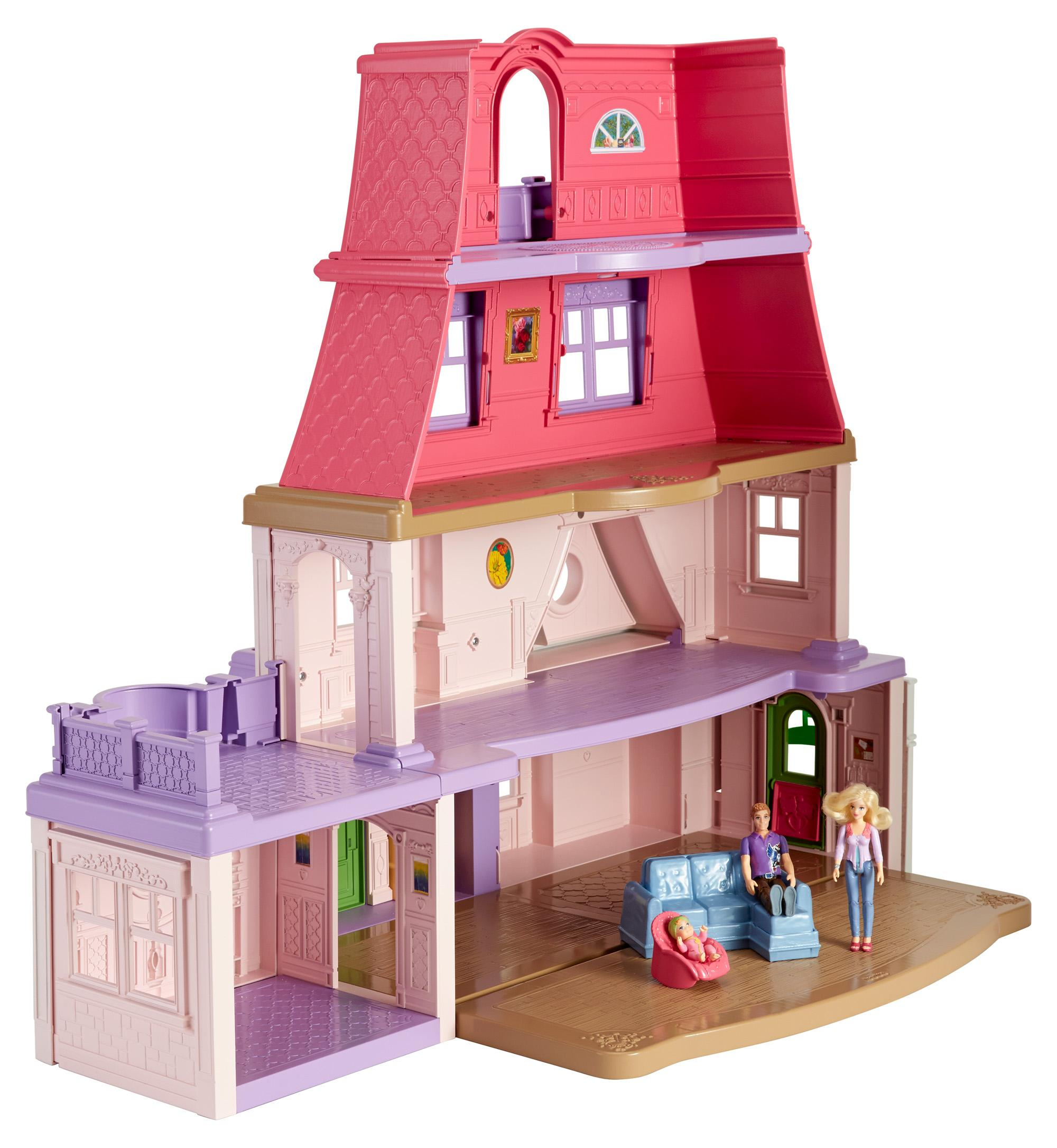 Amazon.com: Fisher-Price Loving Family Dollhouse: Toys & Games