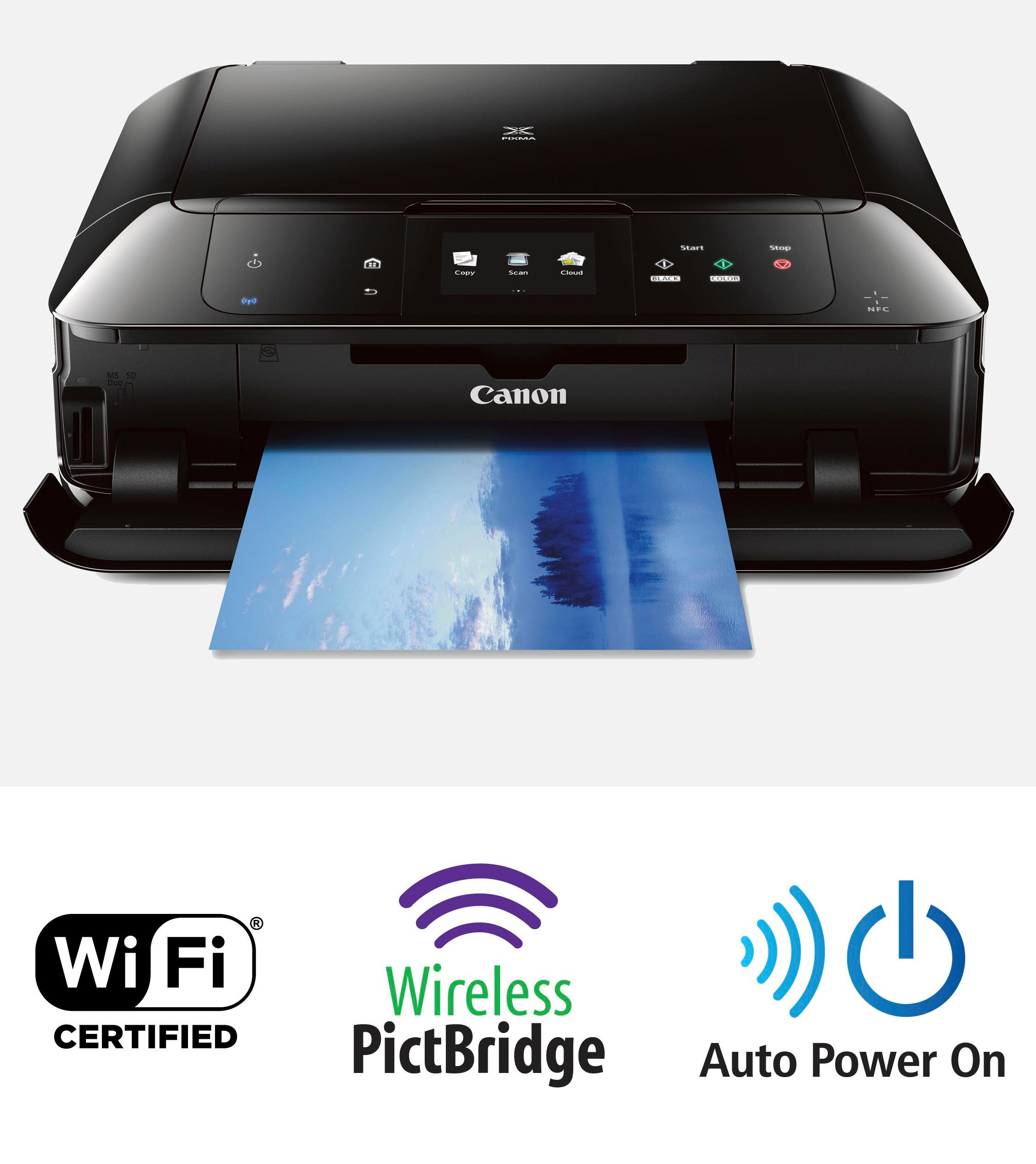 how to connect pixma mg 2620 printer