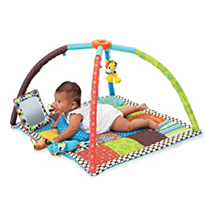 Amazon Com Infantino Twist And Fold Activity Gym