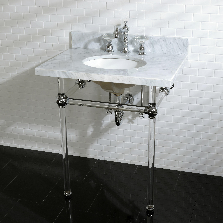 Kingston Brass Kvpb30ma1 Fauceture Templeton Console Sink