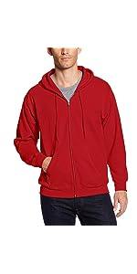 05f2bf30 Hanes Men's EcoSmart Fleece Full Zip Hoodie OP180 · Hanes Men's Ultimate  Heavyweight Fleece Hoodie OF280 · Hanes Men's Nano Premium Lightweight  Hoodie ON280 ...