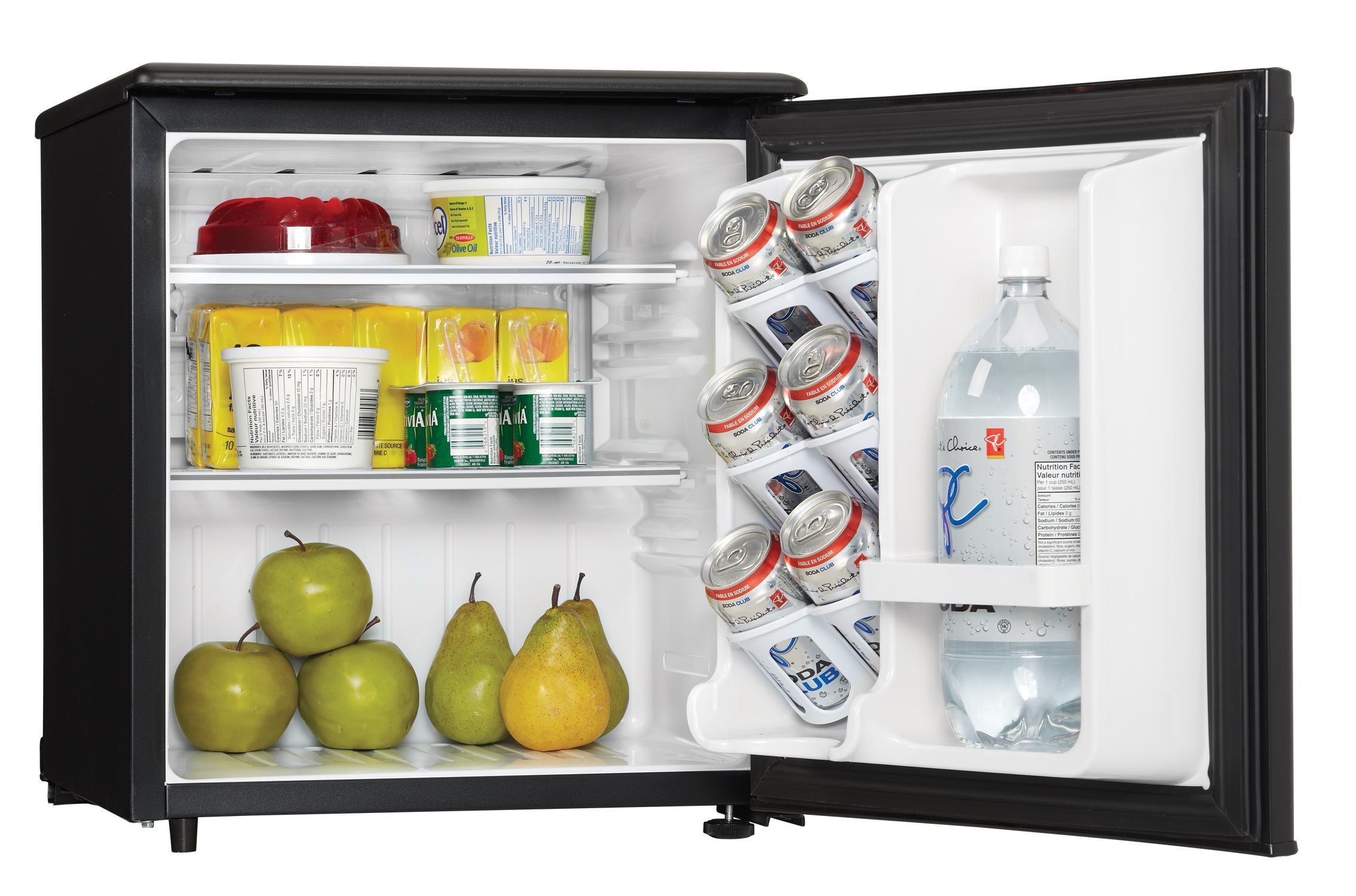 Compact Fridge For Dorm: Amazon.com: Danby DAR017A2BDD Compact All Refrigerator, 1