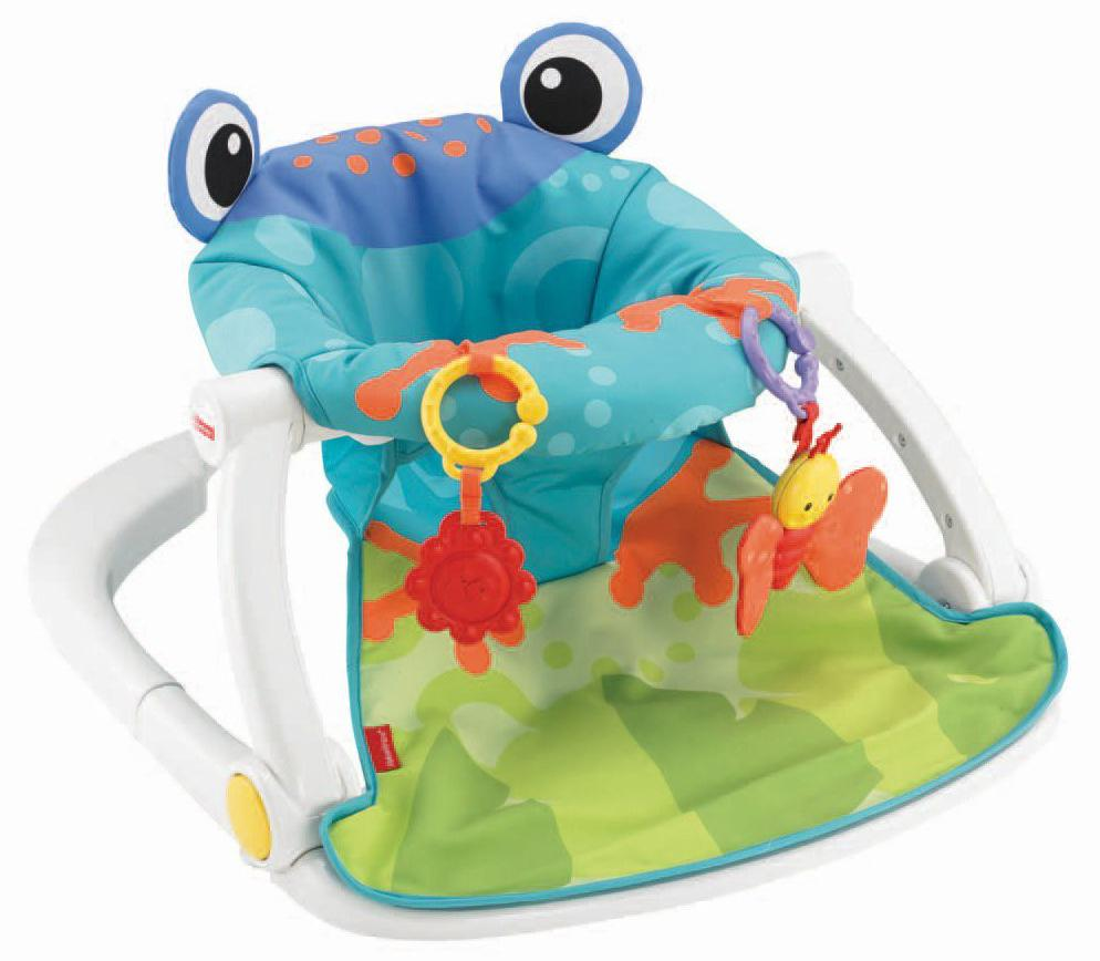 Amazon.com: Fisher-Price Sit-Me-Up Floor Seat, Multicolor