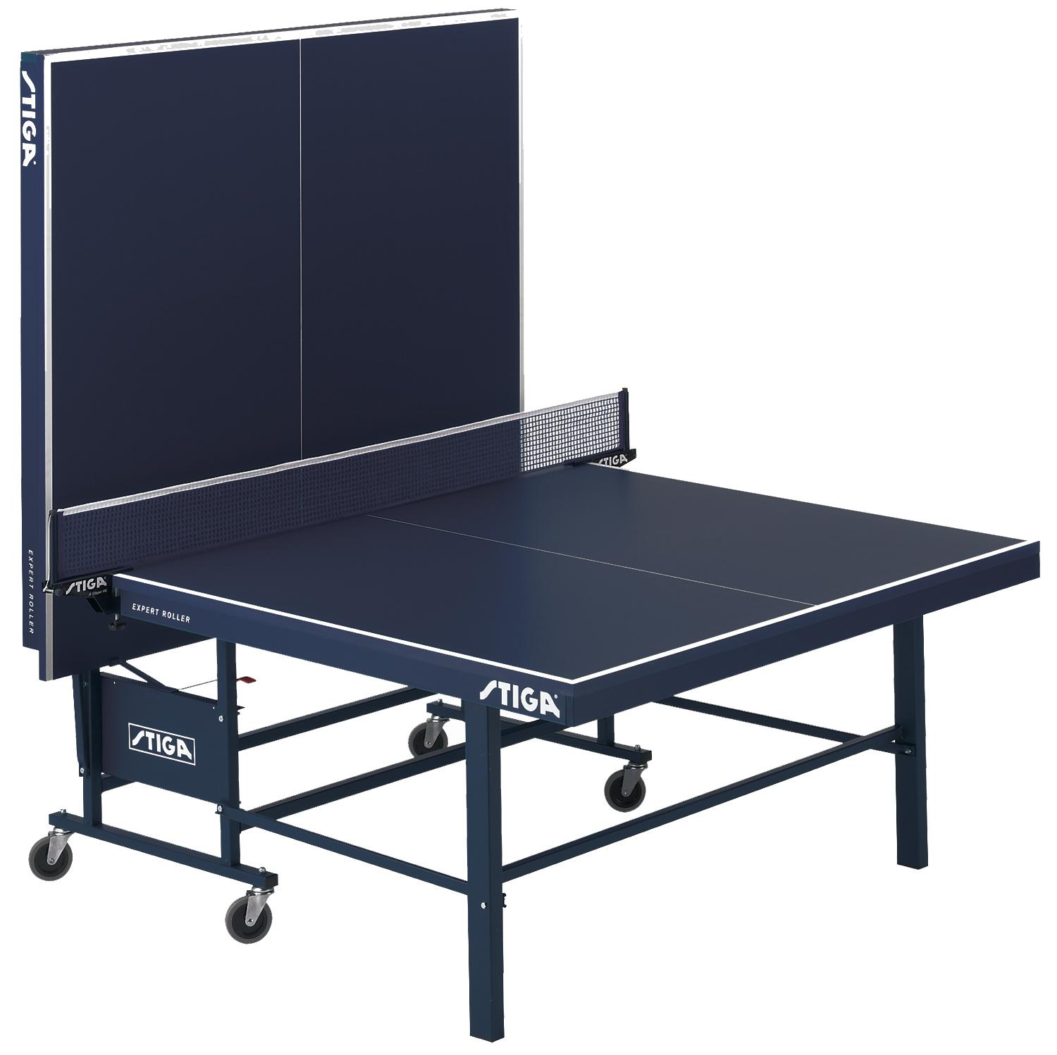stiga expert roller table tennis table ping pong table sports outdoors. Black Bedroom Furniture Sets. Home Design Ideas