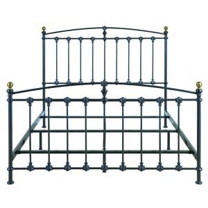 Amazoncom BellO B552QDP Metal Bed Frame Queen Dark Graphite