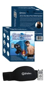 iReliev TENS & Back Pain Relief & Wrap System