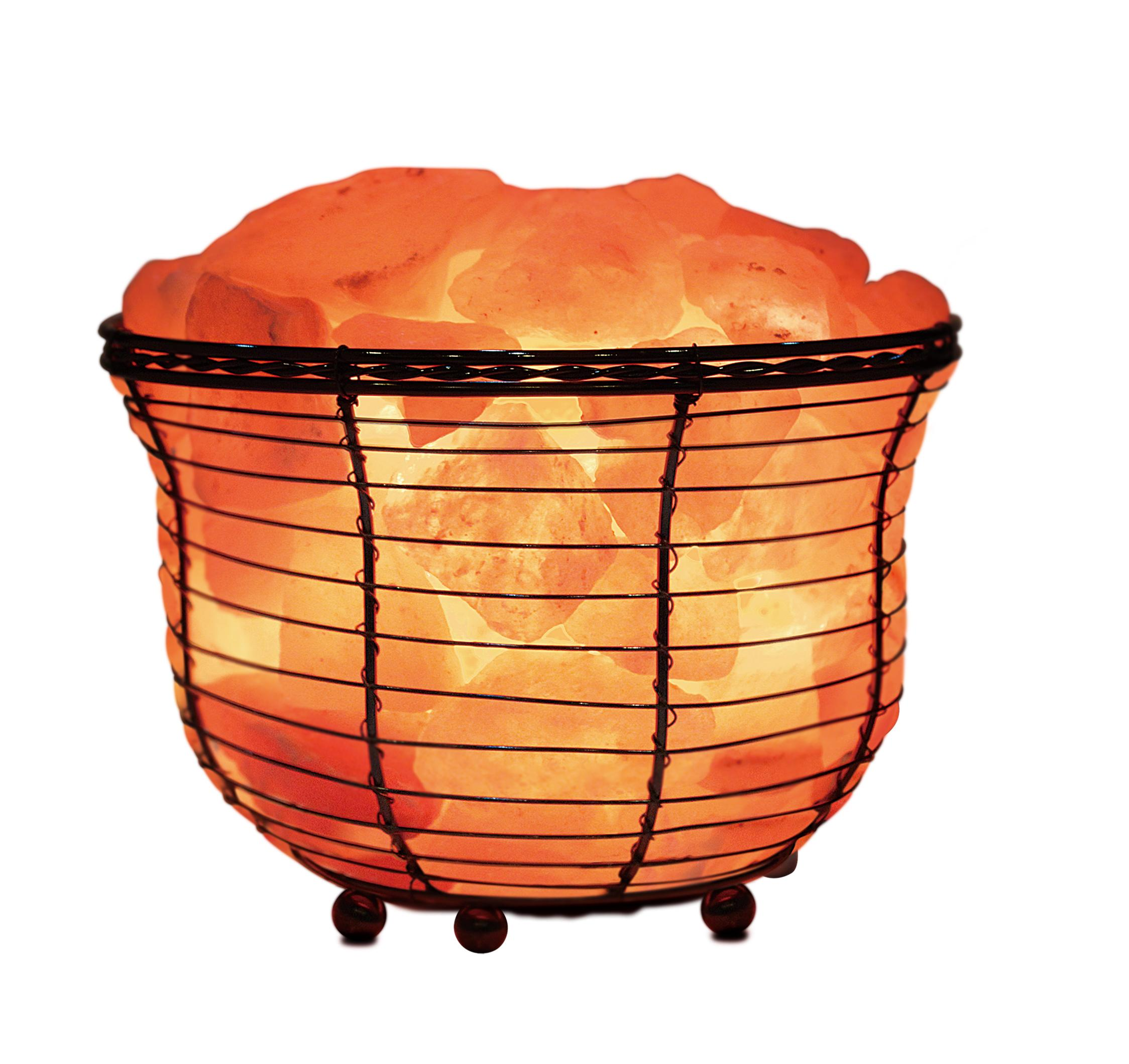Wbm himalayan glow 1301b natural air purifying for Large salt rock lamp
