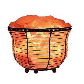 WBM, WBM salt lamp, lamp, Himalayan