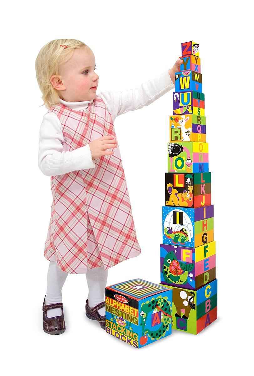 Construction Toys For 2 Year Olds : Amazon melissa doug deluxe piece alphabet