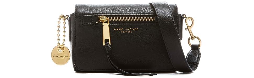 f38ff376ae Amazon.com  Marc Jacobs Recruit Crossbody Bag