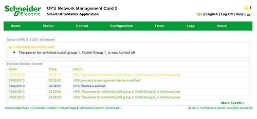 APC Schneider AP9631 Network Management Card