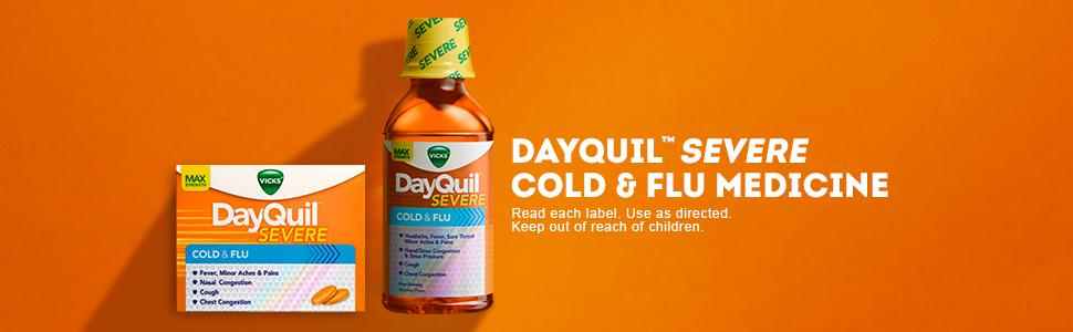 DayQuil Severe Cold & Flu Medicine
