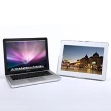 portable monitor with Macbook laptop