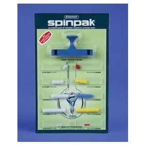 spinpak magnetic stirring bar assortment with restrainer, spinpak, magnetic stirring bars, spinbars