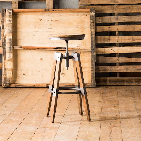 Quad Pod Adjustable Stool