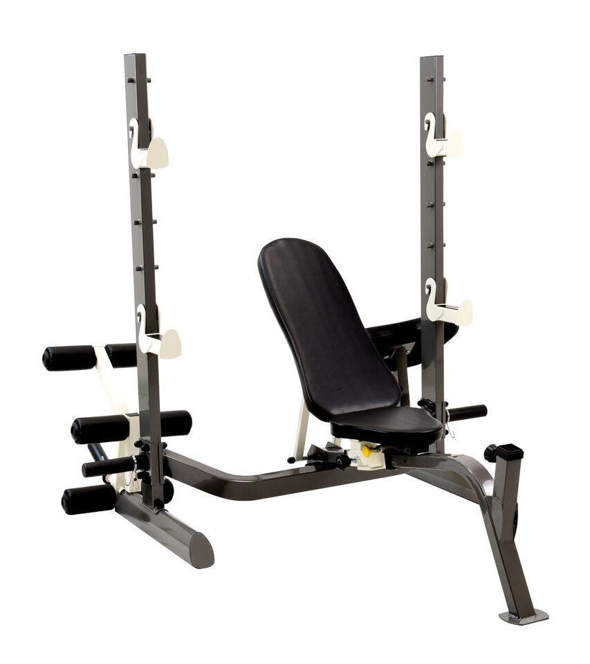 Marcy Multi Position Foldable Olympic Weight Bench Sports Outdoors