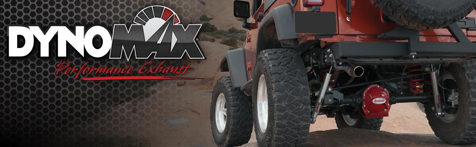 Dynomax Performance Exhaust Axleback Catback Drone: Jeep Tj Dynomax Exhaust At Woreks.co